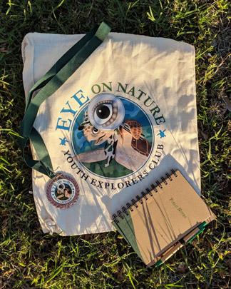 Eye on Nature Products (Bag, Notebook, Medal)