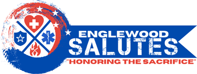 Englewood Salutes logo - Honoring the Sacrifice