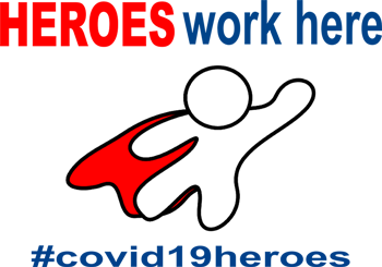 Heroes work here #covid19heores